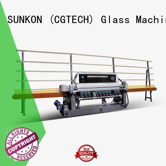 SUNKON professional glass beveling machine price machine for industry