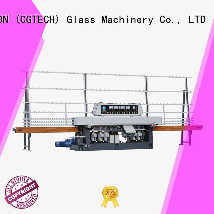 glass straight line beveling machine vertical edging grinding SUNKON