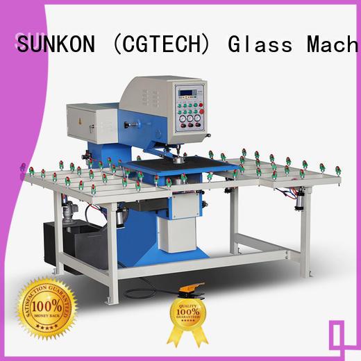 SUNKON Brand glass machine standard glass drilling machine configuration