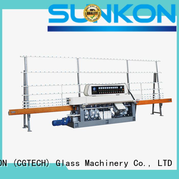 vertical glass edging straight SUNKON straight line edger