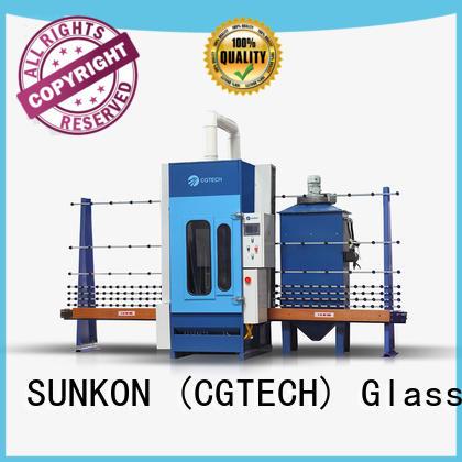 SUNKON Brand autoglass machine automatic glass sandblasting machine sandblasting sandblasting