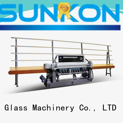 glass beveling machine for sale straight straight bevelled edger      glass beveling machine manual