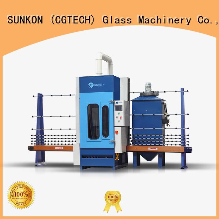 autoglass machine SUNKON automatic glass sandblasting machine
