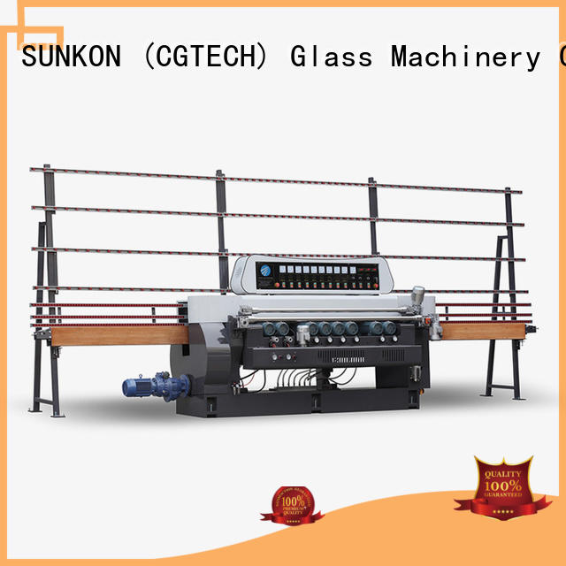 SUNKON Brand beveling glass beveling machine for sale lifting straight