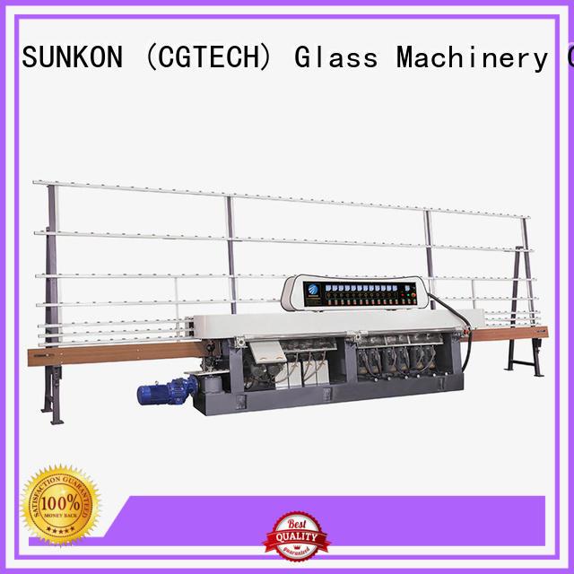 SUNKON plc vertical straight line edger machine glass