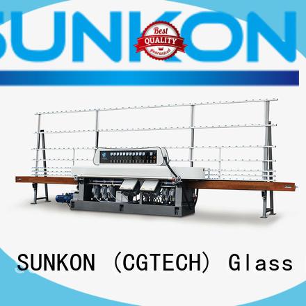 glass straight line beveling machine digital straight straight line edger SUNKON Brand