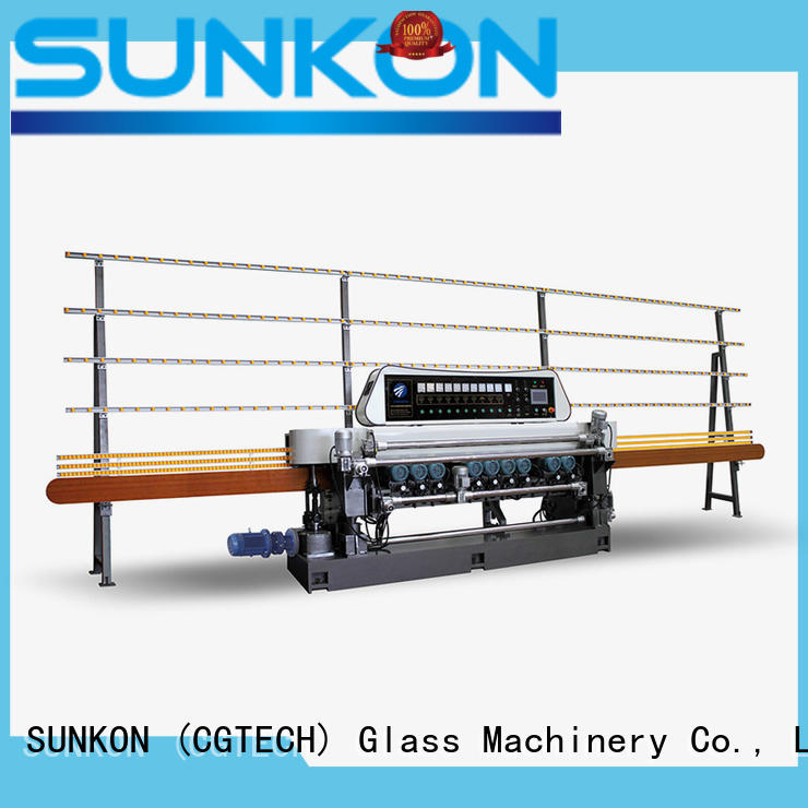 SUNKON glass beveling equipment with good price for plant