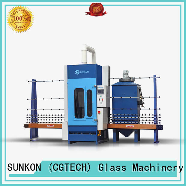 SUNKON quality glass sandblasting machine for sale from China for commercial
