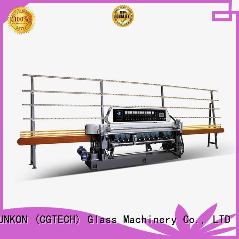 straight line SUNKON glass beveling machine for sale