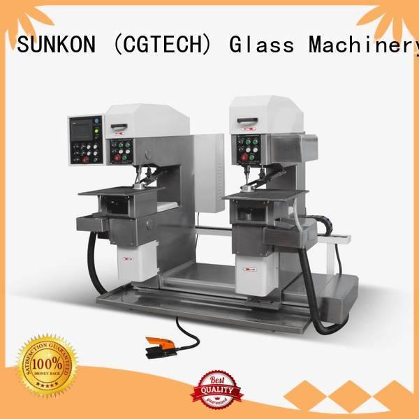 SUNKON Brand configuration glass drilling glass drilling machine standard