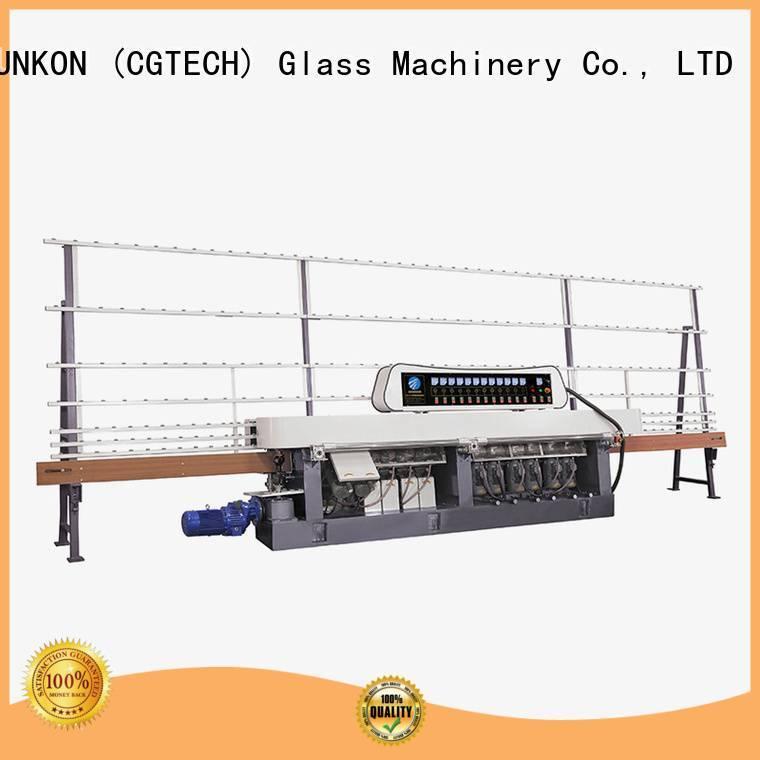glass straight line beveling machine edging plc straight line edger SUNKON Brand
