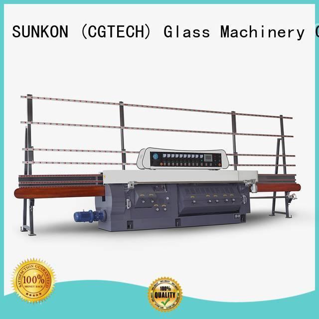 SUNKON mitering machine edge machine glass edging