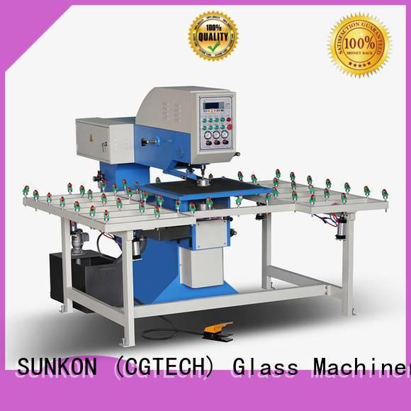 SUNKON drilling glass glass drilling configuration standard