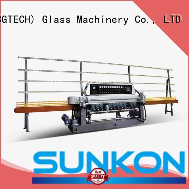 SUNKON Brand machine glass beveling machine for sale digital control