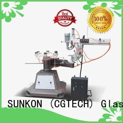 Custom glass shape edger grinding machine shape SUNKON
