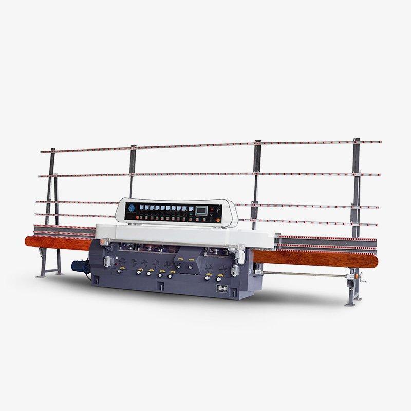 CGZ9325P 9 Motors Glass Straight Line Edging Machine with PLC Control