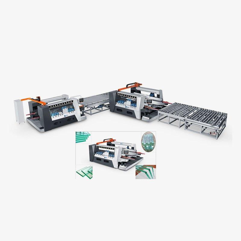CGSZH1225 High-Speed Smart Double Edging Machine