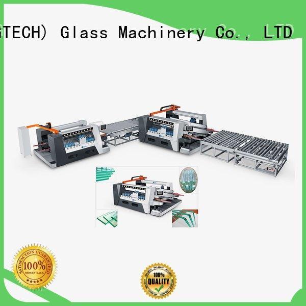 Custom glass double edging machine smart line highspeed SUNKON