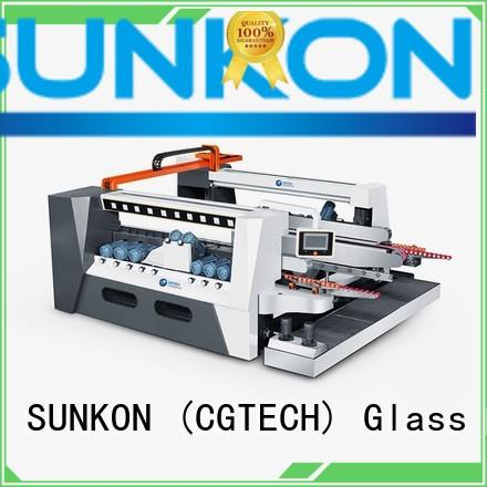 SUNKON Brand double edging smart highspeed glass double edging machine