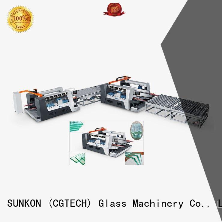 line highspeed edging SUNKON double glazing glass machine