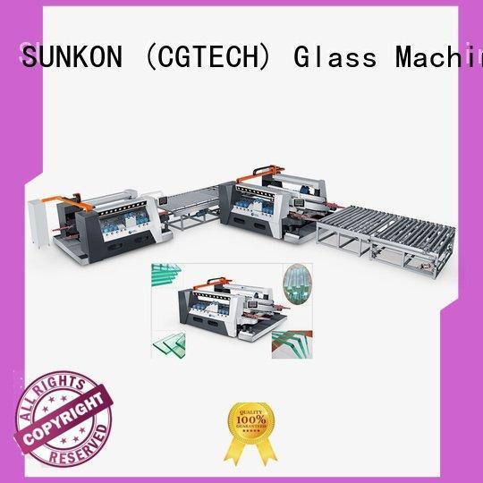 double glazing glass machine smart highspeed glass double edging machine SUNKON Brand