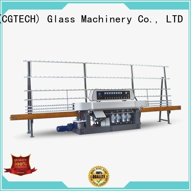 glass straight line beveling machine model glass straight line edger