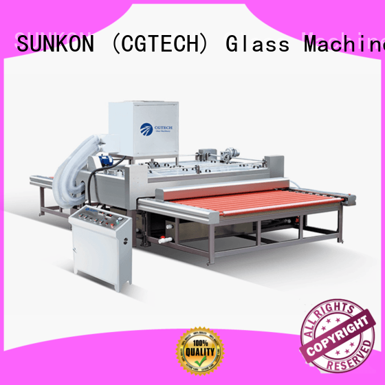 SUNKON efficient glass cleaning machine series for industry