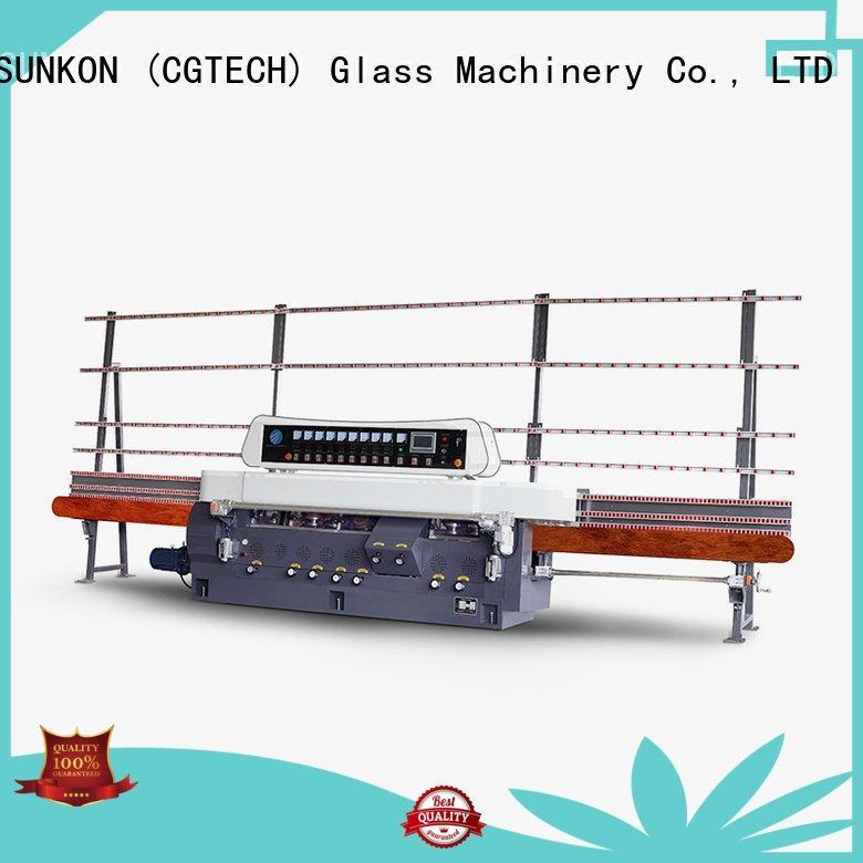 glass straight line beveling machine vertical straight line edger SUNKON Brand