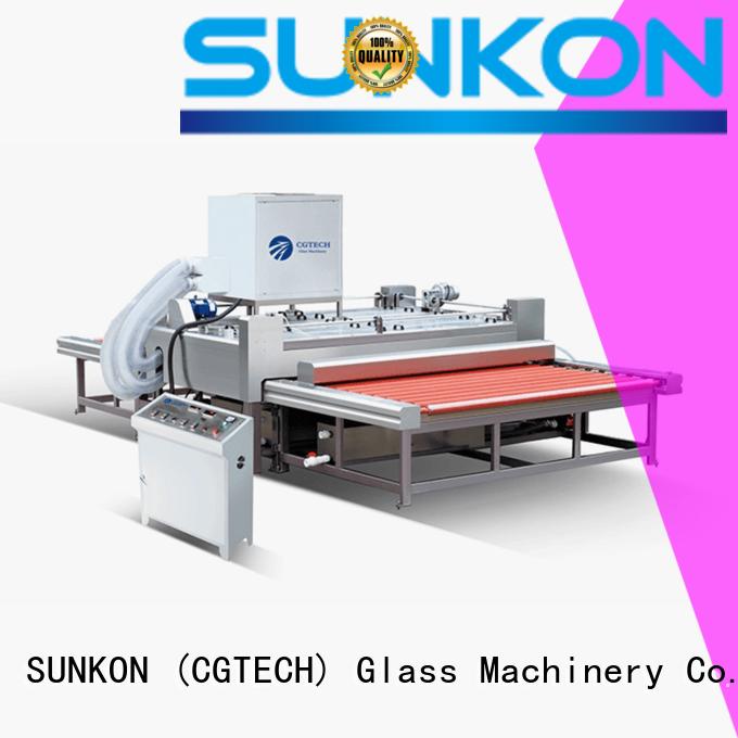 2500 horizontal glass washing machine cgqx for commercial SUNKON