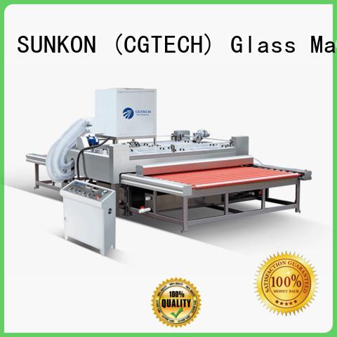 SUNKON elegant flat glass washing machine cgqx for industry