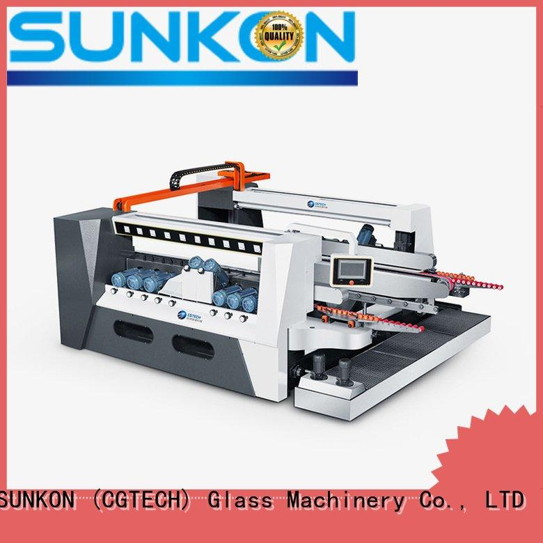 Custom glass double edging machine double highspeed machine SUNKON