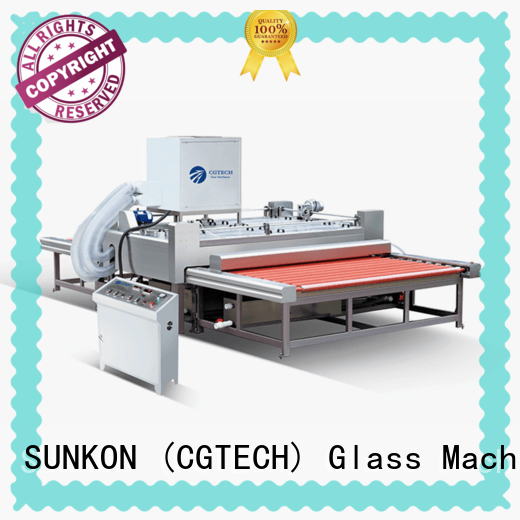 SUNKON efficient glass washing machine for sale machine for commercial