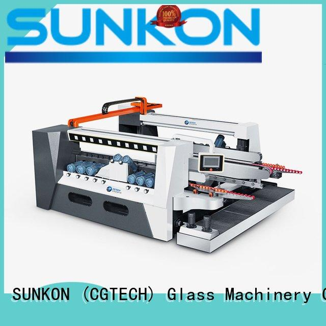 double glazing glass machine straight edging SUNKON Brand