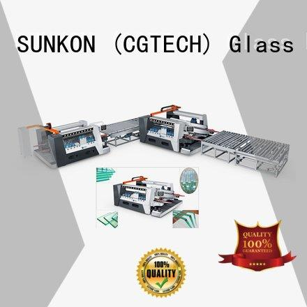 SUNKON Brand machine line double glass double edging machine