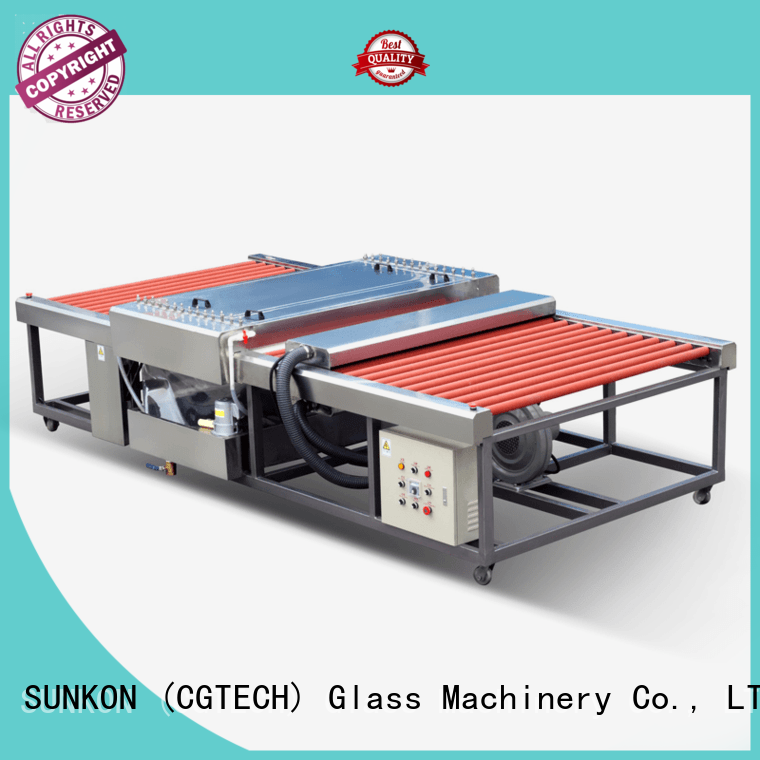 SUNKON 2500 horizontal glass washing machine directly sale for commercial