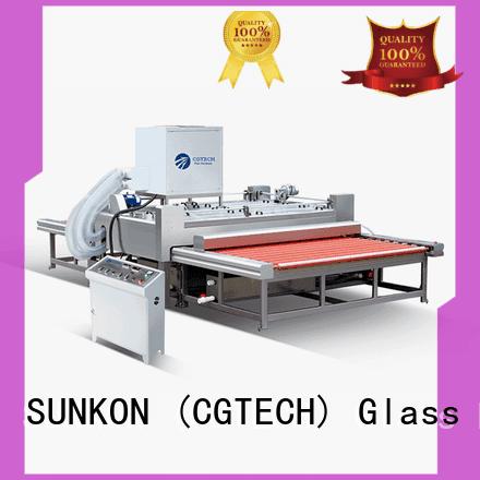 SUNKON Brand glass washing machine glass top washing machine machine