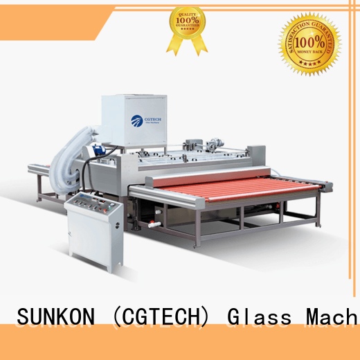 cgq1600 glass top washing machine directly sale for industry SUNKON