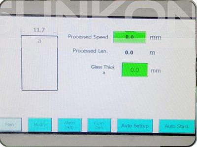 CGZ9325P 9 Motors Glass Straight Line Edging Machine with PLC Control-2