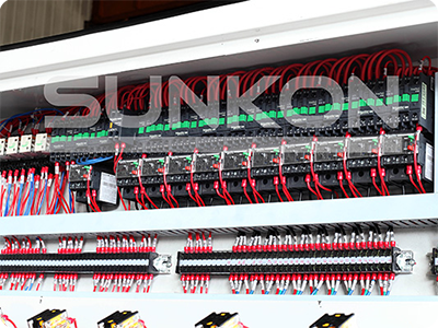 CGZ9325P 9 Motors Glass Straight Line Edging Machine with PLC Control-3