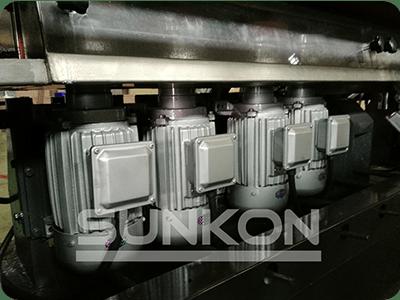 CGZ9325P 9 Motors Glass Straight Line Edging Machine with PLC Control-5