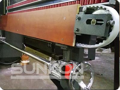 CGZ9325P 9 Motors Glass Straight Line Edging Machine with PLC Control-11