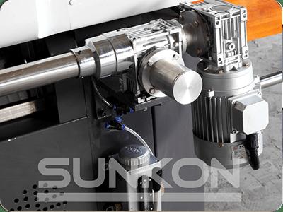 CGZ9325P 9 Motors Glass Straight Line Edging Machine with PLC Control-7
