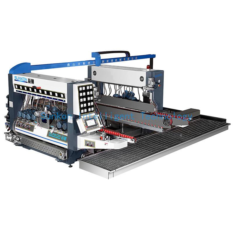CGSZ Glass Straight Line Double Edging Machinery