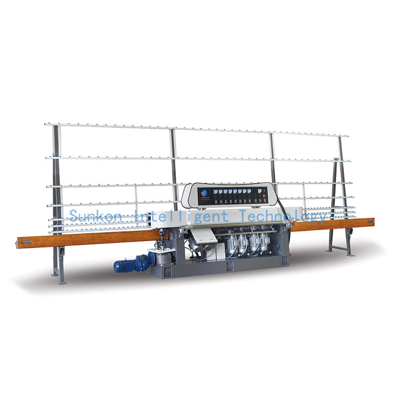 CGZ8325 8 Motors Glass Straight Line Flat Grinding Machine with Manual Model
