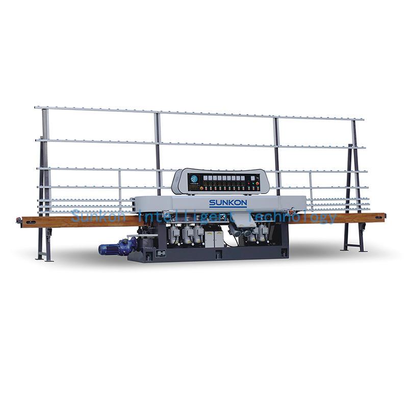 CGZ9325M 9 Motors Glass Straight Line Flat Grinding Machine with Manual Model