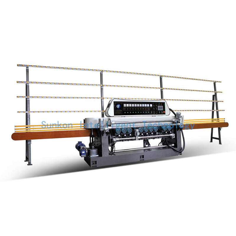 CGX361P Glass Beveling Machine with PLC Control