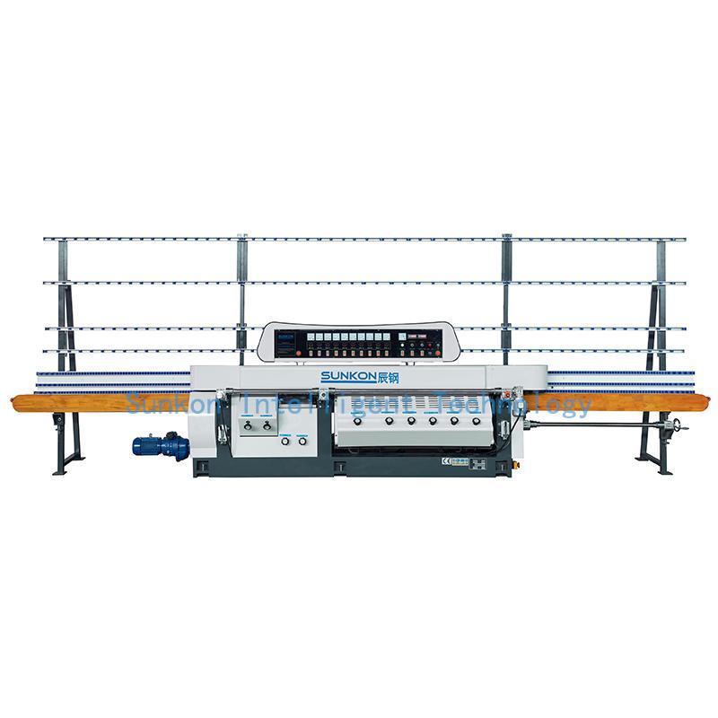 CGZ10325D-45° 10 Motors Glass Mitering Edging Machine