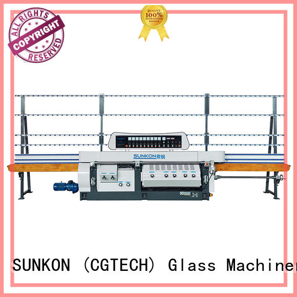 SUNKON straight mitered edger series for commercial